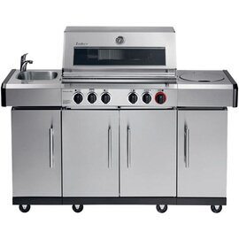Gasgrill Kansas Pro 4  SIK Profi Turbo & Simple Clean Schrankbereich|4 Türen 22,3 kW  H 1180 mm Produktbild