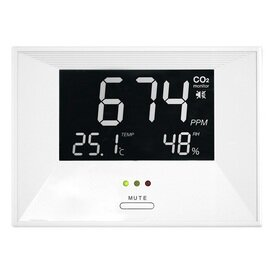 CO2-Monitor Air CO2ntrol Life digital | 0 ppm bis 3000 ppm  L 138 mm Produktbild